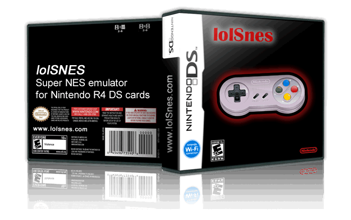 lolSnes® SNES emulator for Nintendo R4 DS Cards